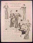 Ladies Fashion Layout Plates - 2 Pages - 1932