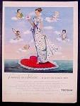 Textron Hostess Coat Fashions Ad - 1948