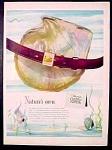 Swank Belts Ad - 1951