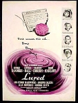 Lured Movie Ad Lucille Ball Boris Karloff - 1947