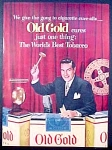 Old Gold Cigarettes Ad - Ted Mack - 1951