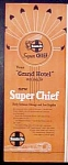 Vintage Ad - Santa Fe Super Chief Rail Road