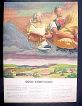 Pennsylvania Rail Road Ad - 1946
