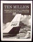 Boeing 707 Ad - 1960