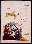 Lockheed Aircraft Corporation Ad - 1942