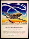 North American Aviation Ad - 1944