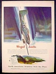 North American Aviation Sets The Pace Ad - 1945