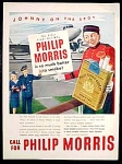 Philip Morris Cigarettes Ad - 1947