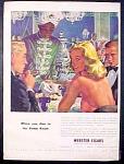 Webster Cigars Ad - 1952