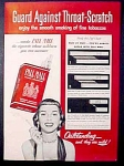 Pall Mall Cigarettes Ad - 1951