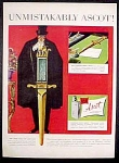 Ascot Lighter And Flints Ad - 1952