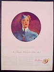 Richard Hudnut Dubarry Beauty Make Up Ad - 1942