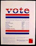 Metropolitan Life Insurance Company Ad - 1960