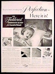 Fieldcrest Thermostatic Blanket Ad - 1947