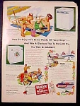 Bendix Automatic Washer, Dryer And Ironer Ad - 1951