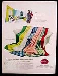 Cheney Brothers Fabrics Ad - 1947