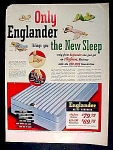 Englander Mattress And Sleep Products Ad - 1951