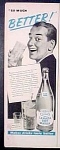 Canada Dry Club Soda Water Ad - 1951