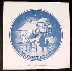 Bing Grondahl Christmas Plate Booklet Only Country Christmas
