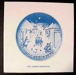 Bing Grondahl Christmas Plate Booklet Only 1979 - White Christmas