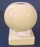 Vintage Homer Laughlin Fiesta Bulb Candle Holder Candleholder - Yellow