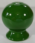Vintage Homer Laughlin Fiesta Pepper Shaker - Dark Green