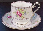 Royal Albert Petit Point Coffee Cup And Saucer Set