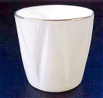 Shelley Dainty White Egg Cup