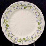 Shelley Bone China Harebell Salad Plate - Gainsborough Shape