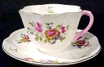 Shelley Bone China Dainty Floral Coffee Cup And Saucer Set