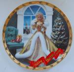 Enesco Holiday Barbie Plate 1994 - Limited Edition