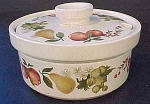 Wedgwood Quince Sugar Bowl With Lid