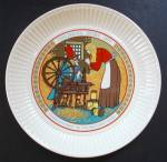 Wedgwood Rumpelstiltskin Children's Story Collectible Plate - Grimm