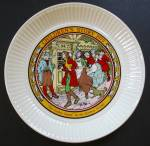 Wedgwood The Golden Goose Children's Story Collectible Plate - Grimm