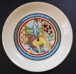 Wedgwood Lady And The Lion Childrens Story Collectible Plate - Grimm