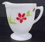 Macbeth Evans Petalware Monax Creamer Florette Decoration