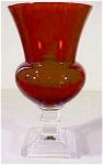 Duncan Miller Ruby Red Vase Line 529