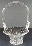 New Martinsville Janice Crystal Footed Basket