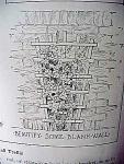 Vintage Blueprint For A Small Garden Trellis