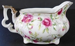 Lefton Rose Chintz Mini Creamer Cream Pitcher