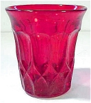Noritake Perspective Flat Juice Glass Tumbler Ruby
