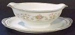 Noritake Croydon Gravy Boat With Attached Plate Liner No. 5908