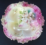 R. S. Prussia Berry Sauce Bowl With Rose