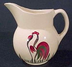 Watt No. 15 Small 1 Pint Jug Pitcher - Rooster