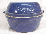 Western Stoneware Pottery Chain Link Covered Casserole