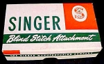 Singer Featherweight Blind Stitch Attachment Original Box Part 160616