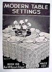 Modern Table Settings - Book No. 88