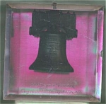 Arizona Clear Lucite Liberty Bell Bank