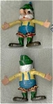 Jack In The Box Bendable Toy Burger Mistier 1970's
