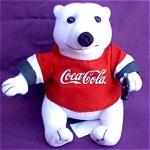 Coca-cola Stuffed Polar Bear